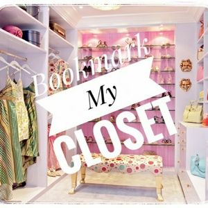 "Hit ""like"" to bookmark my closet!"